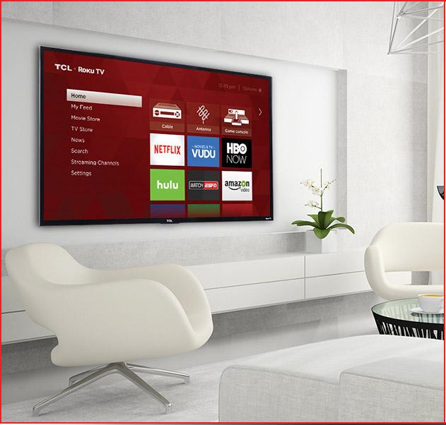 TCL 43-Inch Ultra HD Roku Smart LED TV