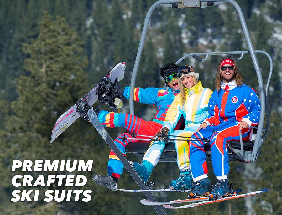 Fun Full-Featured Ski Suits, Fun Premium Crafted Ski Suits