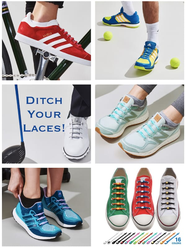 Ditch your shoelaces