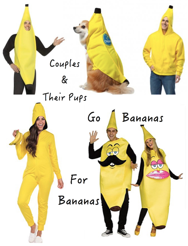 Couples and Their Pups Go Bananas for Bananas
