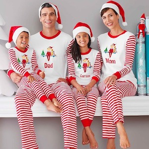 Family Matching Holiday Pajamas on @mygreatgets