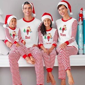 Family Matching Holiday Pajamas on @mygreatgets