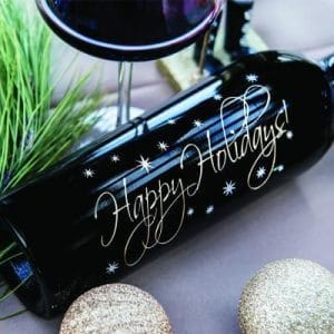 Graceful Holidays Etched Wines