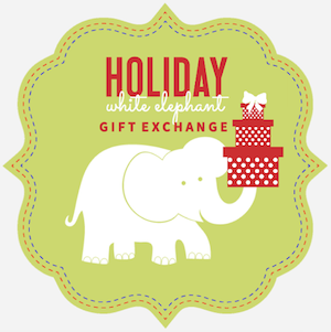 Holiday White Elephant Gift exchange Party Gift Ideas on @mygreatgets