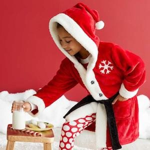 Personalized Santa robes for kids
