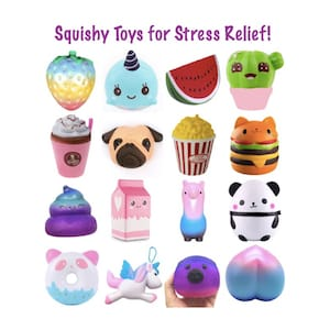 Squshy Toys for Stress Relief Insta