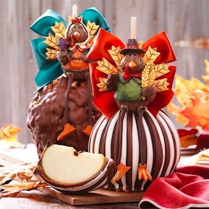 Turkey Jumbo Caramel Apple Gift Set