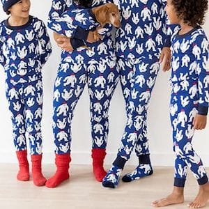 Yeti Family Matching Pajamas