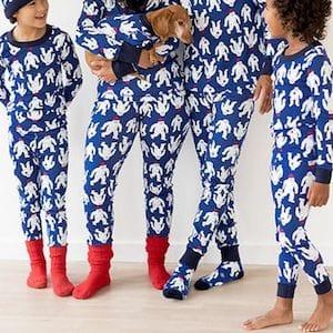 Yeti Family Matching Pajamas