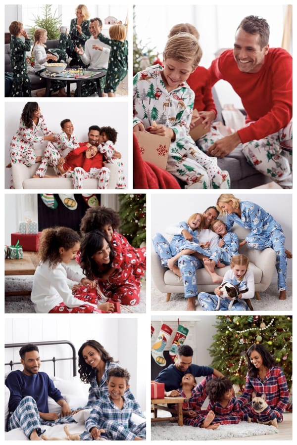 Family Matching Holiday Pajamas