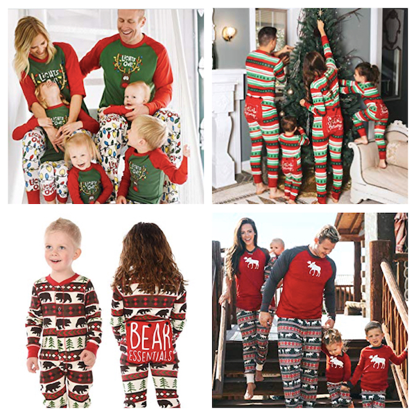 LazyOne Family Christmas Pajamas
