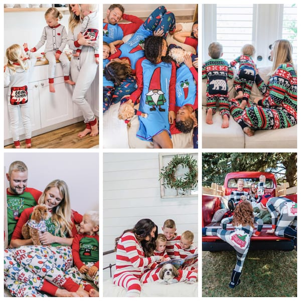 LazyOne Matching Family Holiday Pajama Collection