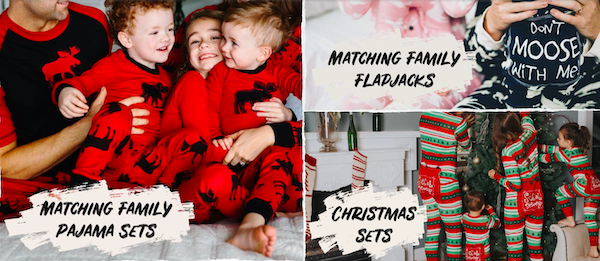 LazyOne Family Matching Holiday Pajamas