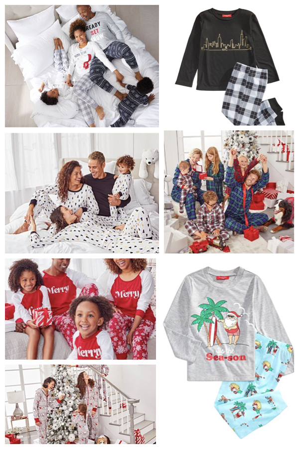 Macy's 2019 Matching Family Holiday Pajamas