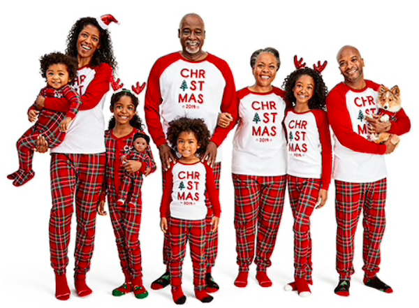 Matching Family Pajamas Christmas Plaid Collection