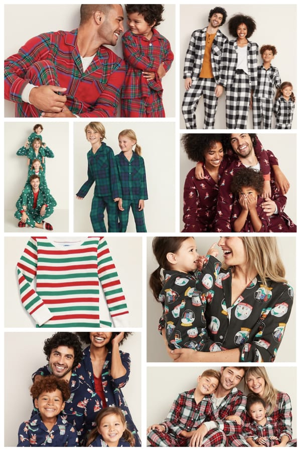 Old Navy Family Matching Holiday Pajamas