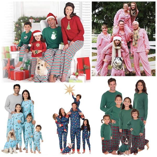 Pajamagram Family Matching Holiday Pajamas