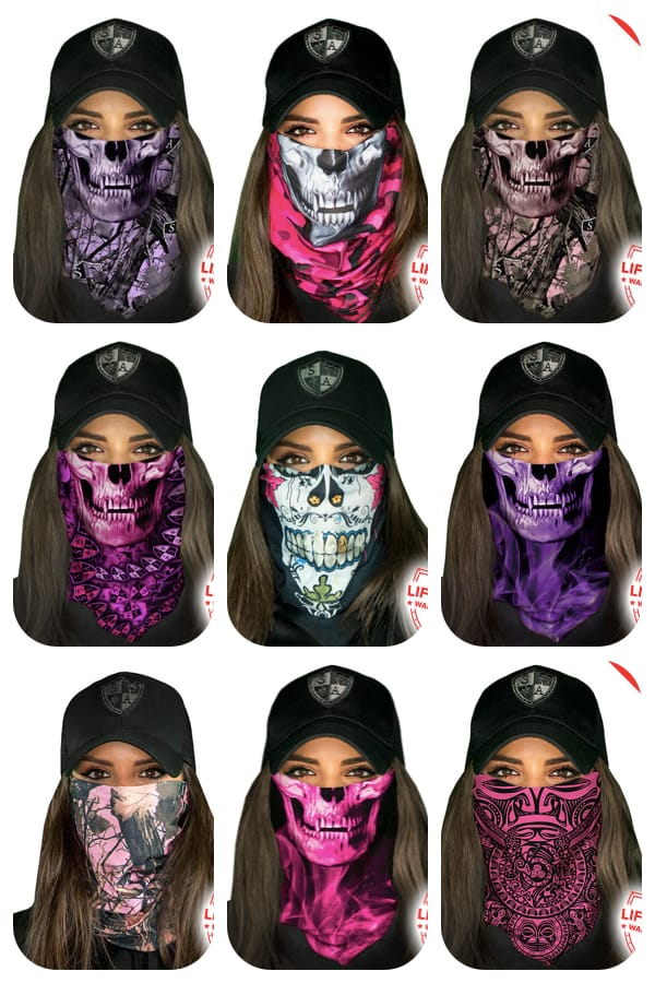 Women's Face Shield Masks