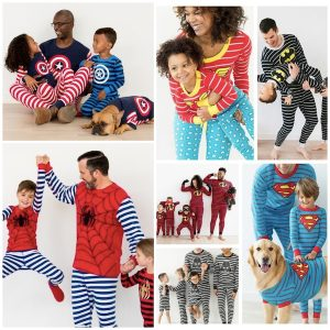 Family Matching Superhero Pajamas