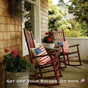 Get Off Your Rocker Go Vote