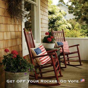 Get Off Your Rocker Go Vote