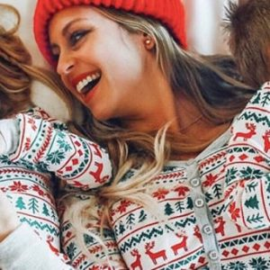 Adorable Matching Mother Daughter Pajamas