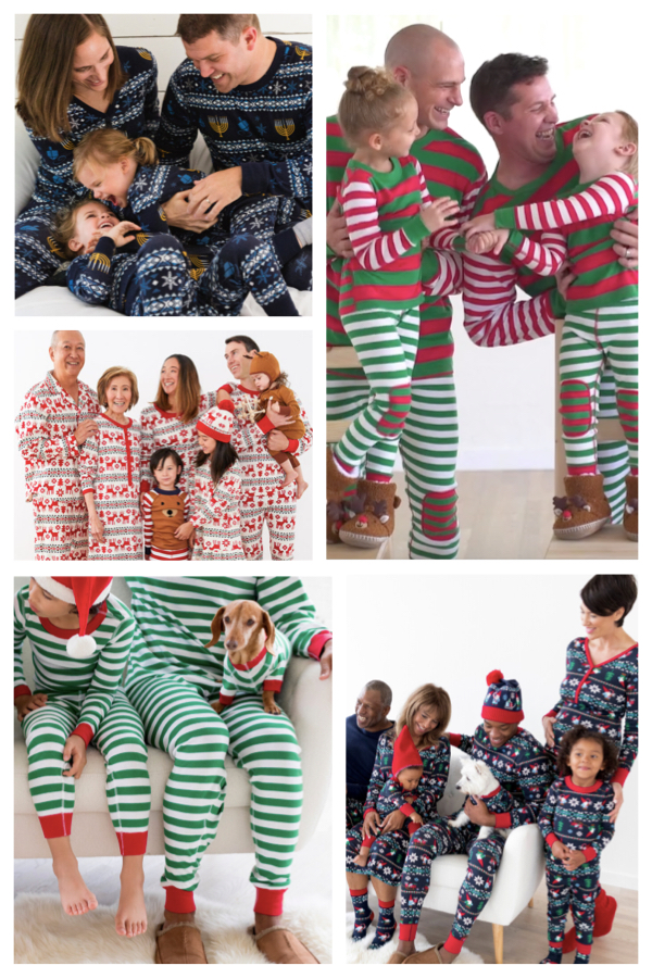 Classic Holiday Pajamas