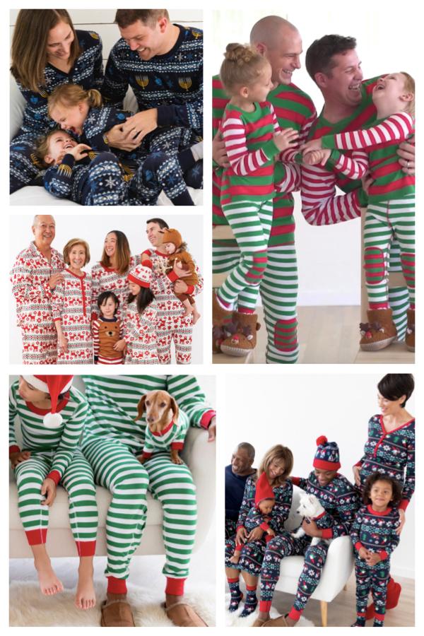 Classic Holiday Pajamas