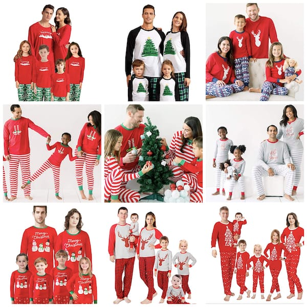 Family Matching Pajamas with Quick Delivery