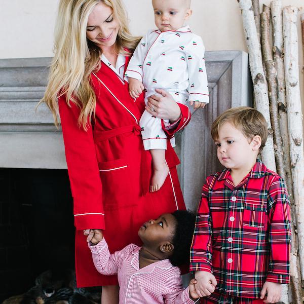 Petite Plume Mix and Match Quality Holiday Family Pajama Set