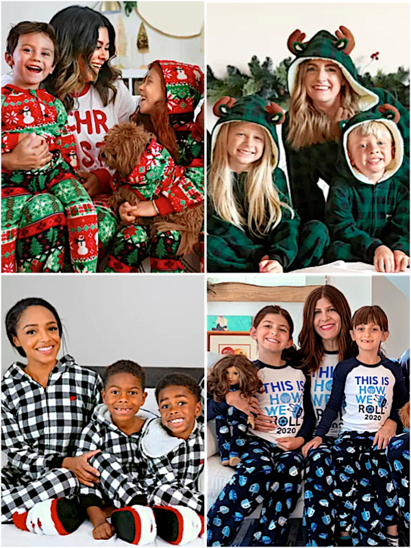 The Company Store Mother Daughter Pajamas for The Whole Family