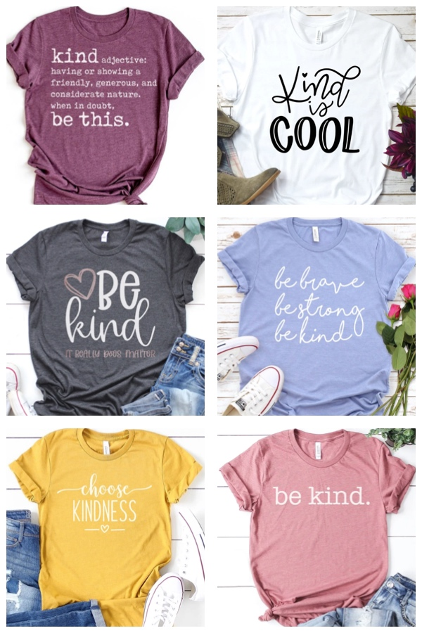 Be Kind and Spread Kindness T-Shirts