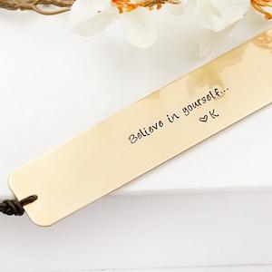 Believe In Yourself Bookmark