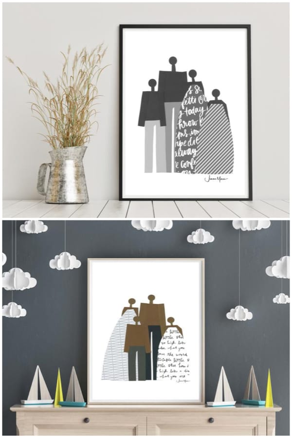 Printable Family Art