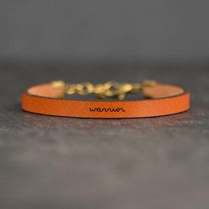 Warrior Leather Bracelet