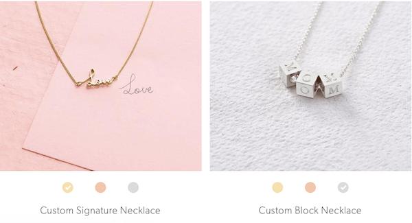 Capsul Jewelry Custom Necklaces