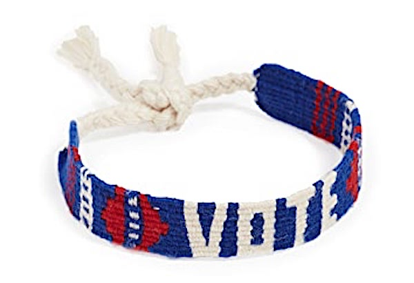 Vote Mantra Bracelet