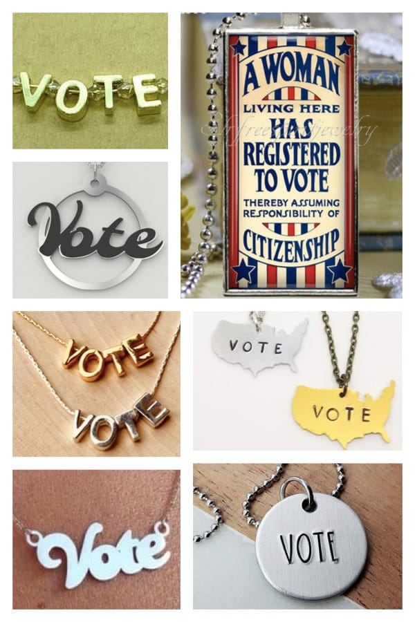 Vote Necklaces